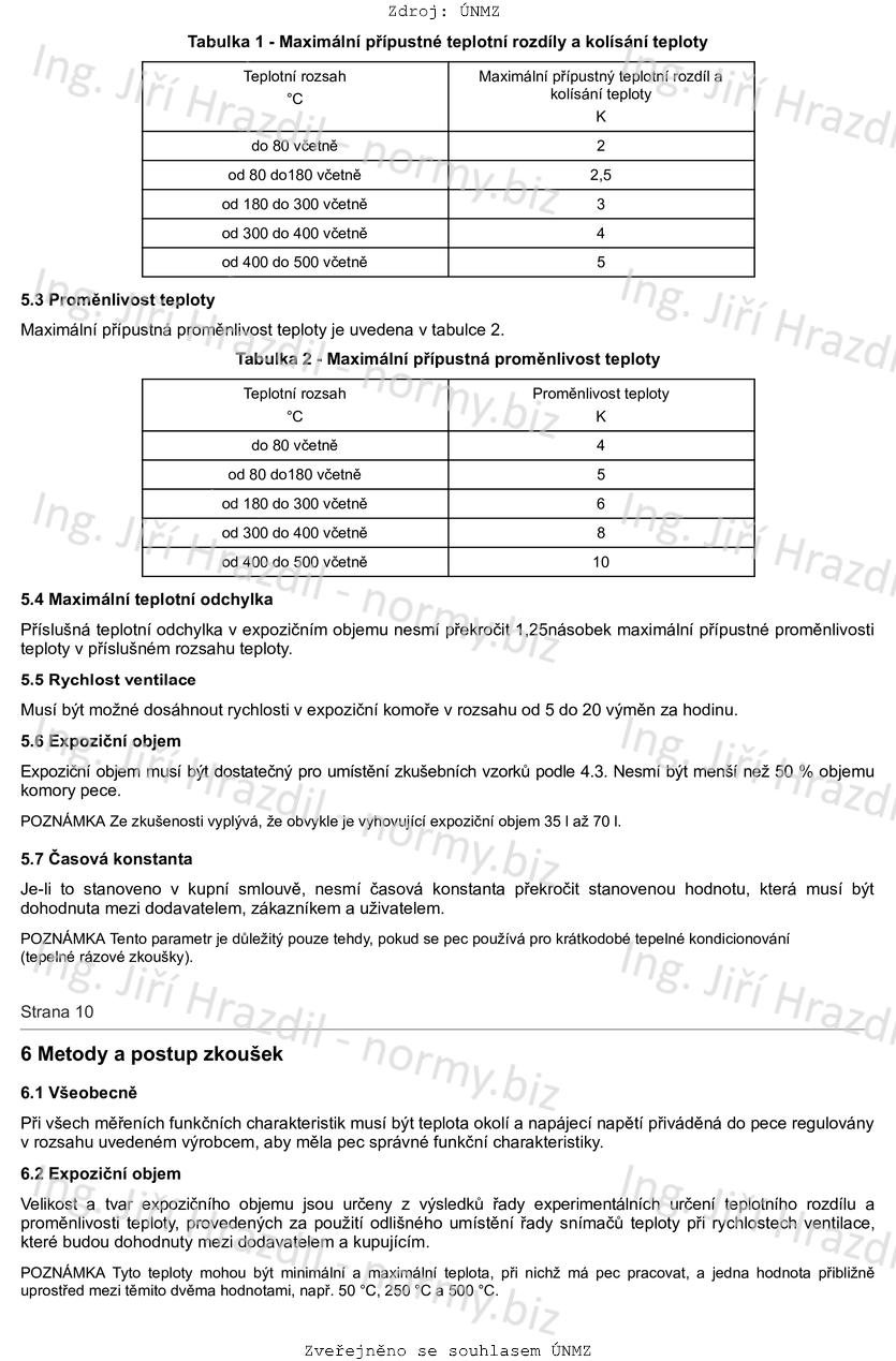 Tabulka osm datování