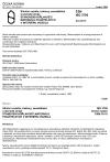 ČSN ISO 3795 Silniční vozidla, traktory, zemědělské a lesnické stroje. Stanovení hořlavosti materiálů použitých v interiéru vozidla