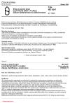 ČSN ISO 9247 Stroje na zemné práce. Elektrické drôty a káble. Zásady identifikácie a označovania