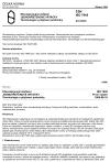 ČSN ISO 7945 Dřevozpracující zařízení. Jednovřetenové vrtačky. Terminologie a přejímací podmínky