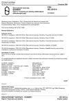 ČSN ISO 5019-4 Žárovzdorné tvarovky. Rozměry. Část 4: Tvarovky pro klenby elektrických obloukových pecí