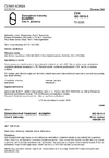 ČSN ISO 5019-5 Žárovzdorné tvarovky. Rozměry. Část 5: Záklenky