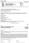 ČSN ISO 4001 Lodě a plovoucí zařízení. Vorové záchranné těleso. Záchranné prostředky