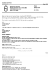 ČSN EN 28737 Spojovací součásti. Kuželové kolíky s vnějším závitem nekalené (ISO 8737:1986)