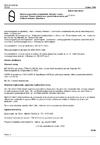 ČSN P ENV 50141 Elektromagnetická kompatibilita. Základní norma odolnosti. Rušení indukovaná vysokofrekvenčními poli a šířená vedením. Zkouška odolnosti