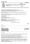 ČSN EN ISO 6708 Potrubní části. Definice a výběr jmenovitých světlostí. DN