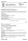 ČSN EN 60068-2-68 Zkoušení vlivů prostředí. Část 2: Zkoušky. Zkouška L: Prach a písek