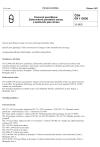ČSN EN 112000 Kmenová specifikace: Elektronkové převáděče obrazu a zesilovače jasu obrazu