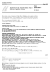 ČSN EN 60865-1 Zkratové proudy - Výpočet účinků - Část 1: Definice a výpočetní metody