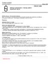 ČSN 01 3495 Výkresy ve stavebnictví - Výkresy požární bezpečnosti staveb