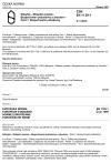 ČSN EN 1129-1 Nábytek - Sklápěcí postele - Bezpečnostní požadavky a zkoušení - Část 1: Bezpečnostní požadavky