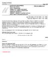 ČSN 33 2000-4-47 Elektrotechnické předpisy - Elektrická zařízení - Část 4: Bezpečnost - Kapitola 47: Použití ochranných opatření pro zajištění bezpečnosti - Oddíl 470: Všeobecně - Oddíl 471: Opatření k zajištění ochrany před úrazem elektrickým proudem