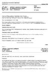ČSN ISO 4301-1 Jeřáby a zdvihací zařízení. Klasifikace. Část 1: Všeobecně