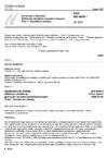 ČSN ISO 6639-1 Obiloviny a luštěniny - Zjišťování skrytého napadení hmyzem - Část 1: Všeobecné zásady