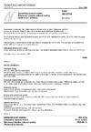 ČSN ISO 6734 Zahuštěné slazené mléko - Stanovení obsahu celkové sušiny (Referenční metoda)