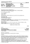 ČSN ISO 938 Bezmotorové vozíky. Ruční zdvižné vozíky pro manipulaci s přepravními plošinami. Hlavní rozměry