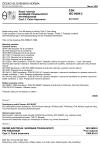 ČSN ISO 8688-2 Rezné nástroje. Skúšanie trvanlivosti pri frézování. Časť 2: Čelné frézovanie