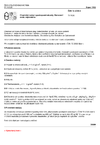 ČSN 72 2030-5 Chemický rozbor vysokopecní strusky. Stanovení oxidu vápenatého