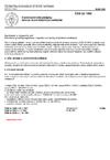 ČSN 33 1500 Elektrotechnické předpisy. Revize elektrických zařízení