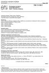 ČSN 13 4309-1 Průmyslové armatury. Pojistné ventily. Část 1: Termíny a definice