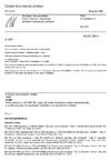ČSN EN 60068-3-3 Zkoušení vlivů prostředí - Část 3: Návod - Seismické zkušební metody pro zařízení