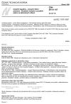 ČSN EN 61197 Izolační kapaliny - Lineární šíření plamene - Zkušební metoda s použitím pásku ze skleněných vláken