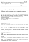 ČSN EN 13165 +A2 Tepelněizolační výrobky pro budovy - Průmyslově vyráběné výrobky z tvrdé polyurethanové pěny (PU) - Specifikace