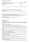 ČSN EN 10273 Tyče válcované za tepla ze svařitelných ocelí se zaručenými vlastnostmi při vyšších teplotách pro tlakové účely
