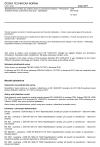 ČSN EN 14305 Tepelněizolační výrobky pro zařízení budov a průmyslové instalace - Průmyslově vyráběné výrobky z pěnového skla (CG) - Specifikace