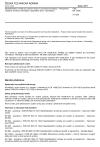 ČSN EN 14306 Tepelněizolační výrobky pro zařízení budov a průmyslové instalace - Průmyslově vyráběné výrobky z křemičitanu vápenatého (CS) - Specifikace