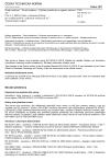 ČSN EN 50152-3-3 ed. 2 Drážní zařízení - Pevné instalace - Zvláštní požadavky na spínací zařízení AC - Část 3-3: Měřicí, řídicí a ochranné přístroje pro zvláštní použití v trakčních soustavách AC - Transformátory napětí