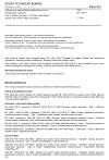 ČSN EN 1794-3 Zařízení pro snížení hluku silničního provozu - Neakustické vlastnosti - Část 3: Reakce na oheň - Chování a klasifikace zařízení pro snížení hluku při požáru