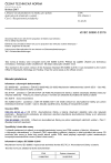 ČSN EN 62660-3 Lithium-ion akumulátorové články pro pohon elektrických silničních vozidel - Část 3: Bezpečnostní požadavky