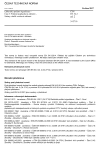 ČSN EN 54-3 ed. 2 Elektrická požární signalizace - Část 3: Požární poplachová zařízení - Sirény a další zvuková zařízení