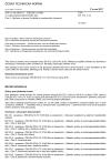 ČSN EN 572-1 +A1 Sklo ve stavebnictví - Základní výrobky ze sodnovápenatokřemičitého skla - Část 1: Definice a obecné fyzikální a mechanické vlastnosti
