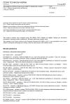 ČSN EN 50604-1 Akumulátorové lithiové baterie pro lehká EV (elektrická vozidla) - Část 1: Obecné bezpečnostní požadavky a metody zkoušek