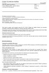 ČSN EN 54-12 ed. 2 Elektrická požární signalizace - Část 12: Hlásiče kouře - Lineární hlásiče využívající optický paprsek