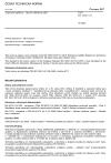 ČSN EN 16241 +A1 Železniční aplikace - Stavěč odlehlosti zdrží
