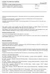 ČSN EN 13251 Geotextilie a výrobky podobné geotextiliím - Vlastnosti požadované pro použití při zemních pracích, v základových a opěrných konstrukcích