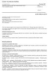 ČSN EN 60674-2 Specifikace plastových fólií pro elektrotechnické účely - Část 2: Zkušební metody