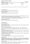 ČSN EN 196-10 Metody zkoušení cementu - Část 10: Stanovení obsahu ve vodě rozpustného chrómu (Cr6+) v cementu