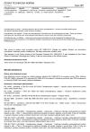 ČSN EN 15863 Charakterizace odpadů - Základní charakterizační zkouška vyluhovatelnosti - Dynamická vyluhovací zkouška monolitických odpadů s pravidelně se opakující obnovou výluhu za stanovených zkušebních podmínek
