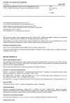 ČSN EN 12566-4 ed. 2 Malé čistírny odpadních vod do 50 ekvivalentních obyvatel - Část 4: Septiky montované ze sestavy prefabrikátů na místě
