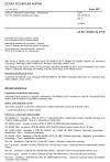 ČSN EN 60950-22 ed. 2 Zařízení informační technologie - Bezpečnost - Část 22: Zařízení instalovaná venku