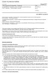 ČSN EN 55014-2 ed. 2 Elektromagnetická kompatibilita - Požadavky na spotřebiče pro domácnost, elektrické nářadí a podobné přístroje - Část 2: Odolnost - Norma skupiny výrobků