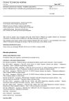 ČSN EN 12312-6 Pozemní zařízení pro letadla - Zvláštní požadavky - Část 6: Odledňovače a odledňovací/protinámrazová zařízení