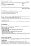 ČSN EN 60051-1 ed. 2 Elektrické měřicí přístroje přímopůsobící ukazovací analogové a jejich příslušenství - Část 1: Definice a obecné požadavky společné pro všechny části