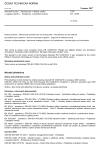 ČSN EN 12209 Stavební kování - Mechanicky ovládané zámky a zapadací plechy - Požadavky a zkušební metody
