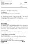 ČSN EN 15975-1 +A1 Zabezpečení dodávky pitné vody - Pravidla pro management rizik a krizové řízení - Část 1: Krizové řízení