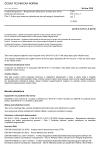 ČSN EN 61511-3 ed. 2 Funkční bezpečnost - Bezpečnostní přístrojové systémy pro sektor průmyslových procesů - Část 3: Pokyn pro stanovení požadované úrovně integrity bezpečnosti